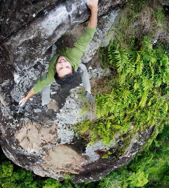 Bergsklättring på Lino Rock i Boquete, Panama